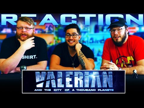 Valerian and the City of a Thousand Planets | Teaser Trailer 2 REACTION!!