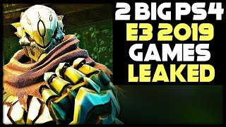 2 BIG PS4 GAMES AT E3 2019 LEAKED + APEX LEGENDS DYING?
