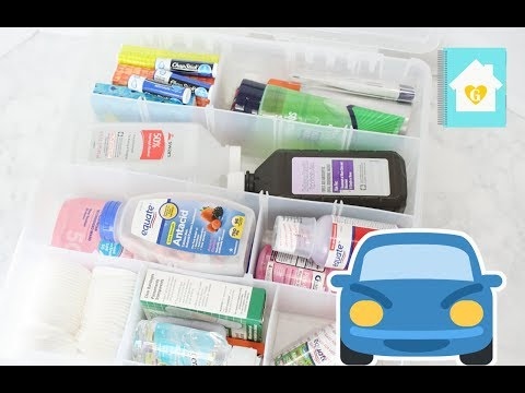 MY FIRST AID KIT FOR TRAVEL | 2016 TRAVEL SERIES