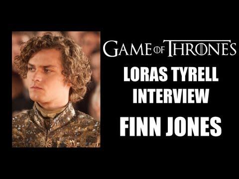 Game of Thrones Loras Tyrell Interview - Finn Jones