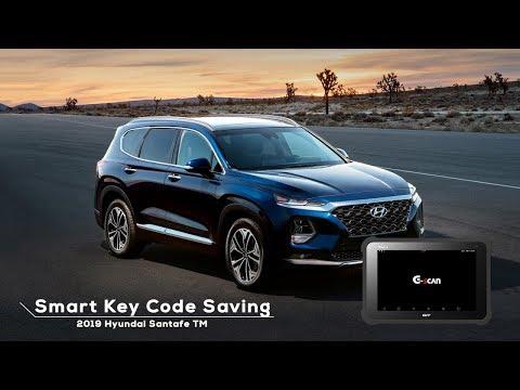 2019 Hyundai Santafe Tm Smart Key Code Saving Youtube