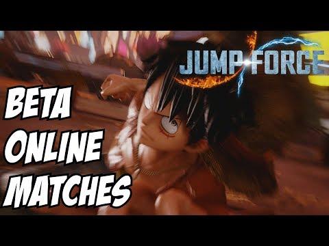 Jump Force Beta Online Battles: Exploring Luffy