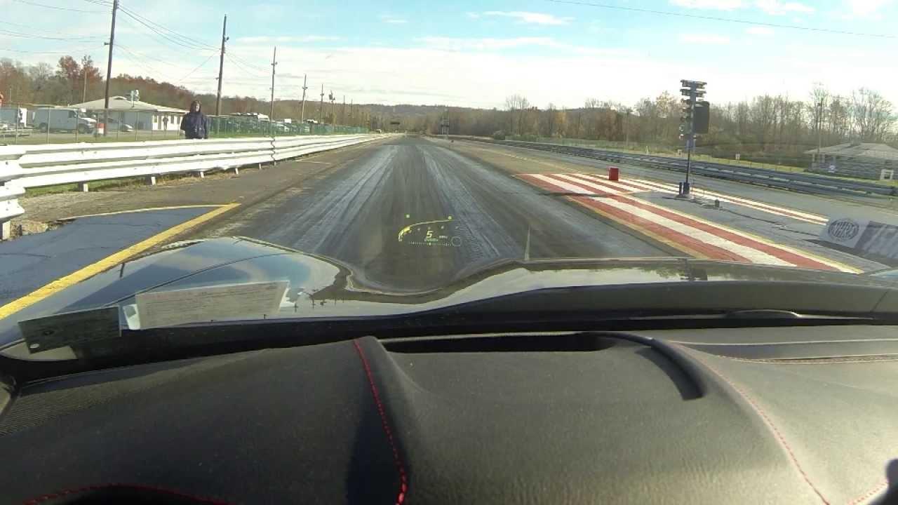 2014 Corvette Stingray Drag Racing Stock Viewing Hud Youtube