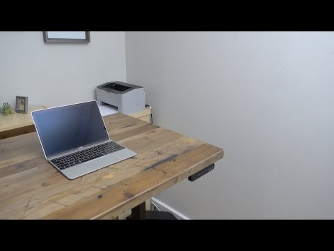 Uplift Desk standing desk hands-on walkthrough and build