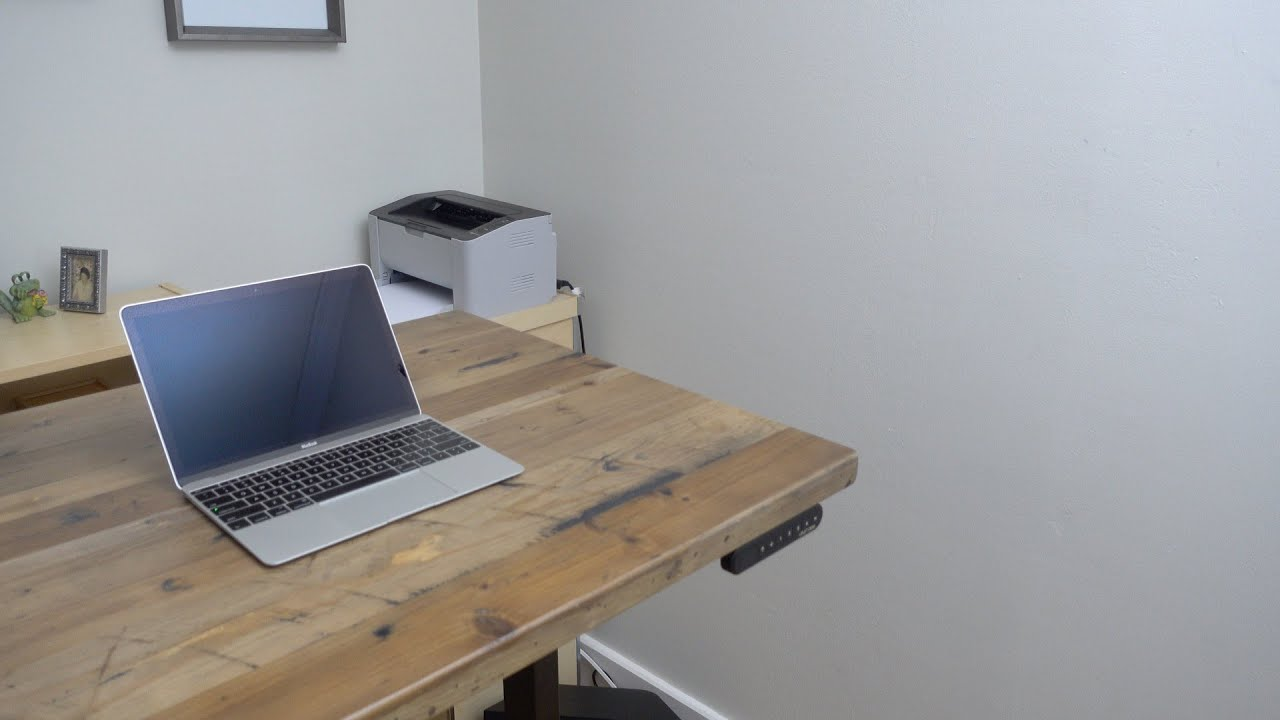 Uplift Desk standing desk handson walkthrough and build YouTube
