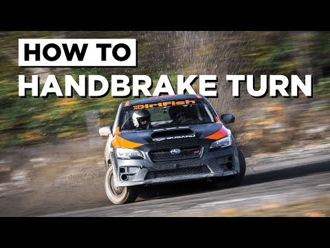 Learn how to Handbrake Turn (Like a WRC driver)