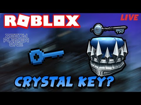Roblox Livestream| FINDING THE CRYSTAL KEY|Roblox Ready Player One|Come help!
