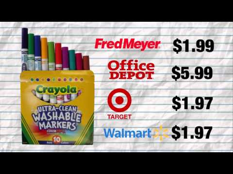 2015: Back-to-school Comparison Shopping