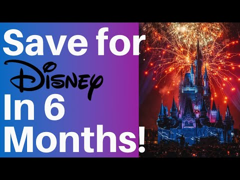 How to Save Money for Disney World (In 6 Months)