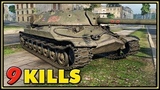 IS-7 - 9 Kills - World of Tanks Gameplay