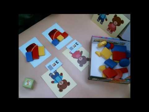 Игра с блоками Дьенеша для малышей РЫБАЛКА