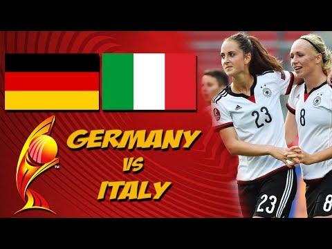 GERMANY vs. ITALY / 21.07.2017 / UEFA WOMENS EURO 2017 / Sticker Prognose #GERITA