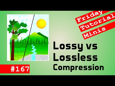 Lossy vs Lossless Compression - Friday Minis 167
