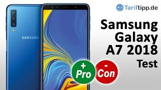 Samsung Galaxy A7 2018 | Test deutsch
