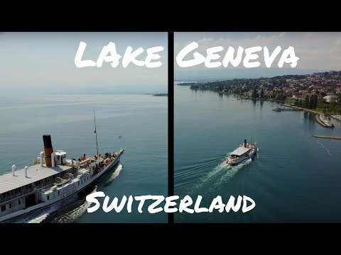 Over the Lake Geneva with Mavic Pro Drone | Switzerland | Lutry | (4K) HD