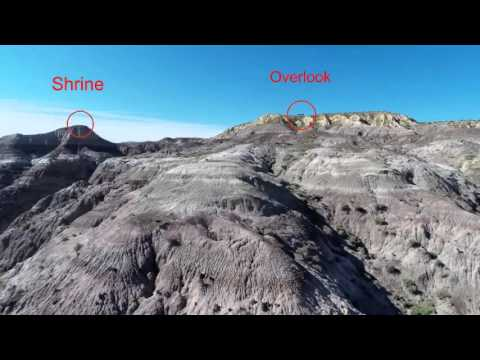 A Drone Quadcopter Aerial Survey of the Kutz Canyon Stairway area, New Mexico