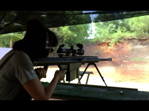 GOSR(Guam Outdoor Shooting Range) 關島靶場實彈射擊