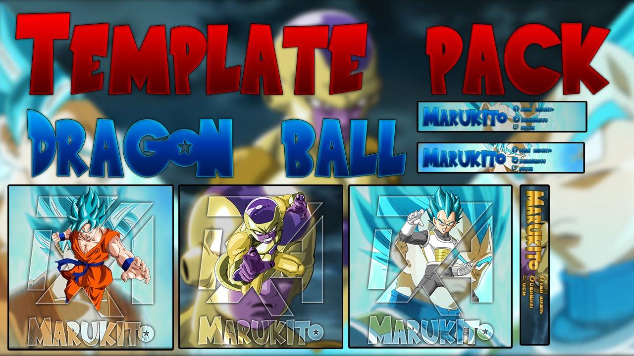 [TEMPLATE PACK] Logo et bannière dragon ball Z : Fukkatsu ...