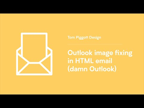 Outlook Image Fixing In HTML Email