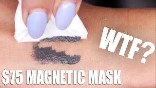 This is the MOST FUN I've ever had making a video on YouTube. James and I had such a blast playing with the new $75 MAGNETIGHT Face Mask by Dr.