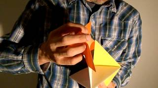 Origami Spinner Ornament