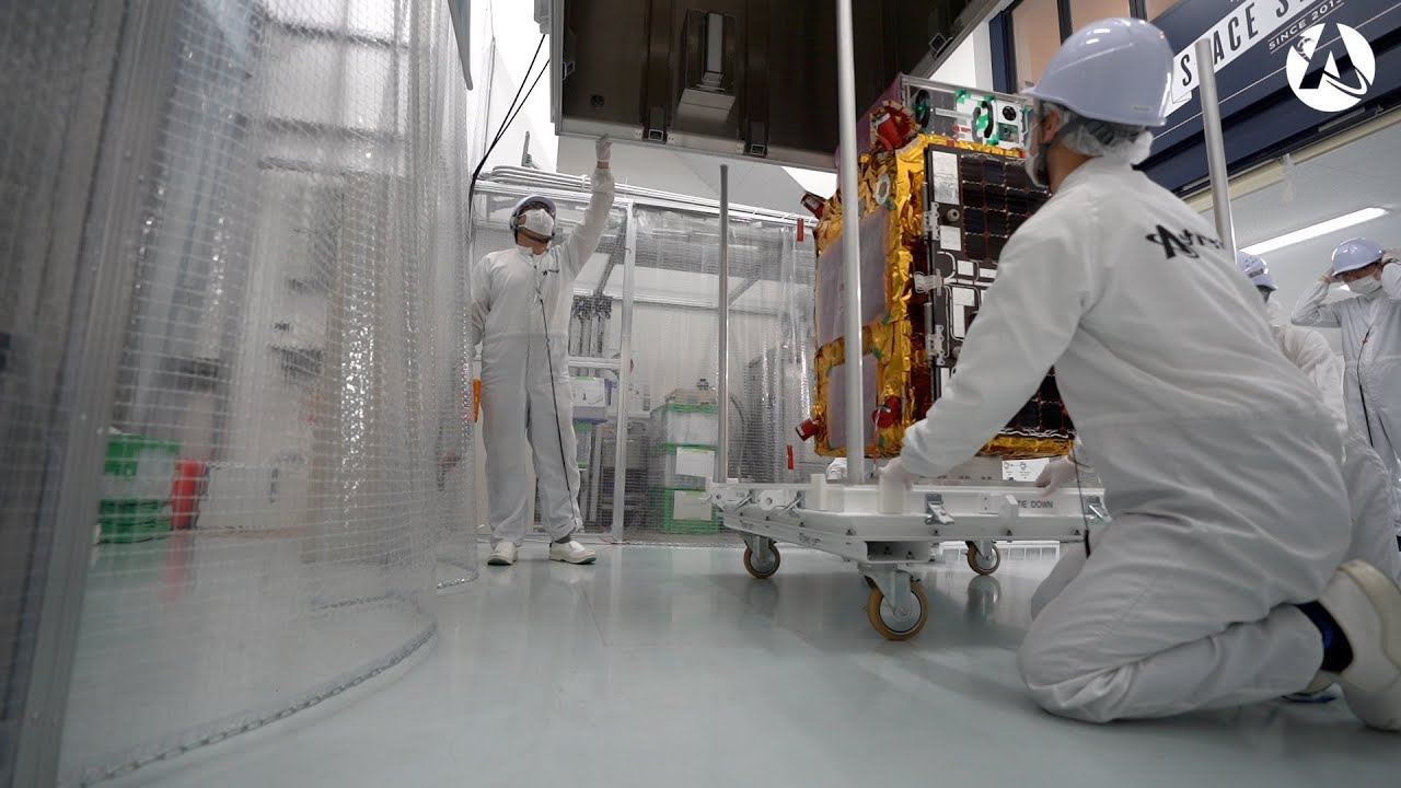 Astroscale ships ELSA-d spacecraft to launch site