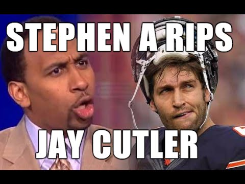 Best of Stephen A Smith: Jay Cutler Rants Pt 1, Skip Bayless, Funny Montage