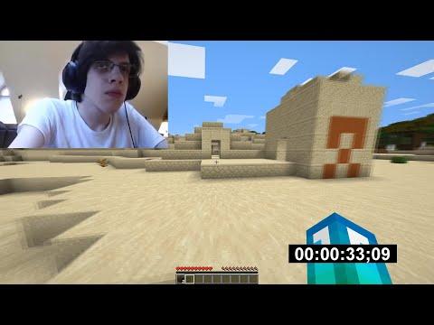 Minecraft 1.16 Diamond Speedrun (WORLD RECORD) [1:44]