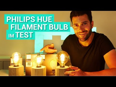 Philips Hue Filament Lampen im Test & Review