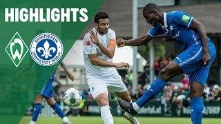 Goller trifft zum Ausgleich | Werder Bremen - Darmstadt 98 | SV Werder Bremen