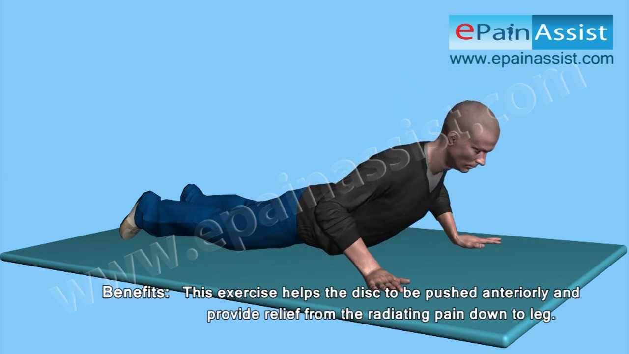 Exercise For Bulging Disk In Lower Back Lumbar Disc Bulge Exercise
