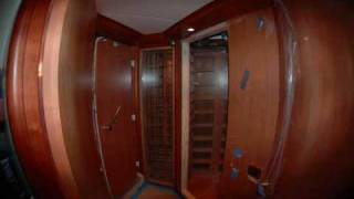 Vintagecellars.com - 124 Ft Yacht Wine Cellar Installation