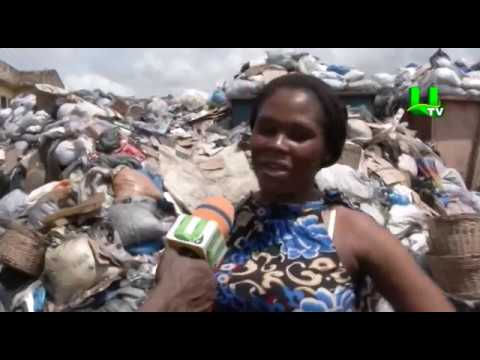 Cholera: Heaps of waste left uncontrolled at Madina