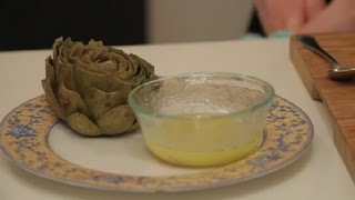 Garlic Butter Dip For Artichokes : Using Artichokes