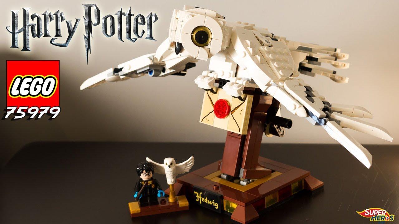 Download LEGO HARRY POTTER 75979 Hedwige la chouette Review Speebuild Owl Hedwig