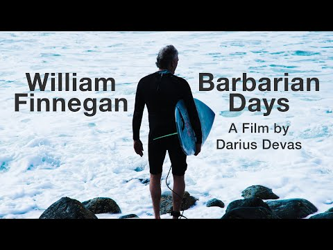 "William Finnegan's ""Barbarian Days"" poured into short film"