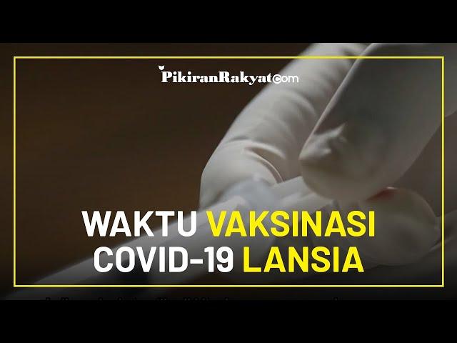 Jokowi dan Tenaga Kesehatan Besok, Inilah Waktu Vaksinasi Covid-19 Bagi Kelompok Lansia
