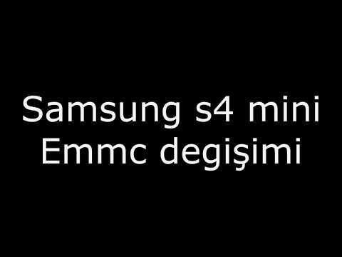 Samsung S4 Mini EMMC Replacement