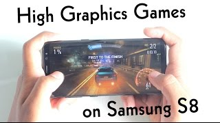 Top 10 Best High graphics games for Android [Samsung S8]