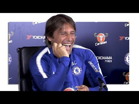 Antonio Conte Full Pre-Match Press Conference - Tottenham v Chelsea - Laughs At Diego Costa's Claims