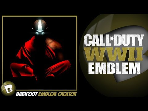 COD WW2 Emblem Tutorial - Aang Avatar The last Airbender