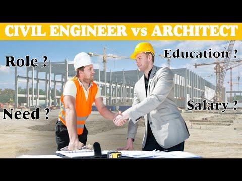 Civil engineer vs Architect   Need   Education   Salary   Full Comparison