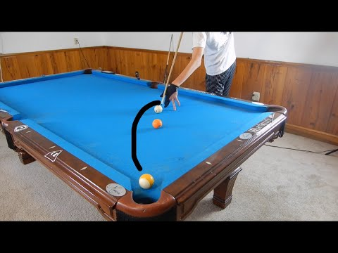 How To Curve A Pool Ball Masse Tutorial YouTube - Masse pool table