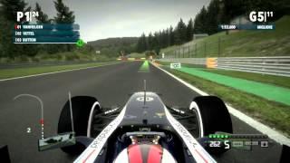 F1 2012 Gameplay Ita PC Gran Premio Del Belgio - Prestazione Grandiosa -