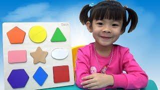 Đồ Chơi Thông Minh – Bé Học Và Phân Biệt Hình Dạng Cơ Bản ❤ AnAn ToysReview TV ❤