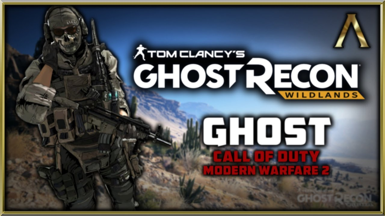 Ghost Recon Wildlands - Character Customization - Let's Create Ghost from Call of Duty MW2!