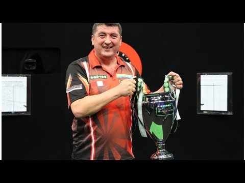 Suljovic claims first World Series title at German Darts Masters defeating Van den Bergh in final