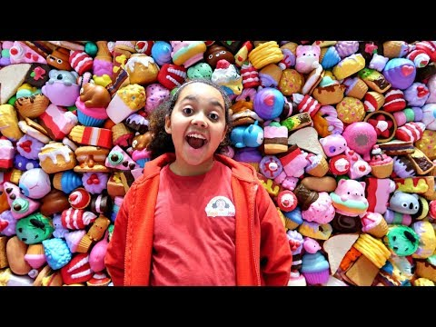 Giant Squishy Toys Wall Collection - Family Fun Games NYC Toy Fair