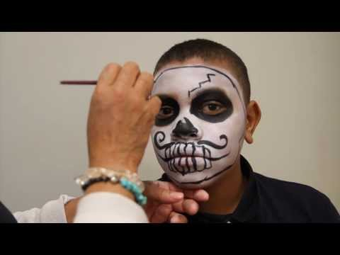 Arizona Daily Star makeup tutorial: Boy Sugar Skull