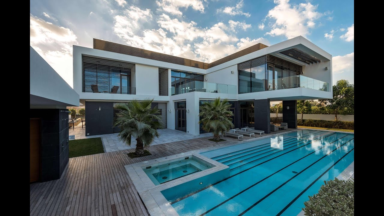 District One Contemporary Mansion Dubai United Arab